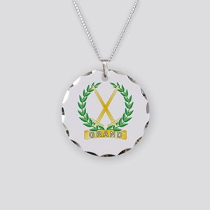 Grand Confidential Observer Necklace Circle Charm
