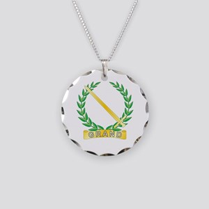 Grand Outer Observer Necklace Circle Charm