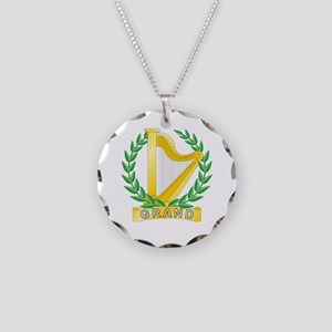 Grand Choir Director Necklace Circle Charm