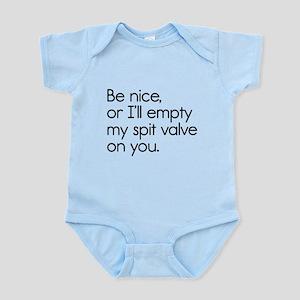 Spit Valve Infant Bodysuit
