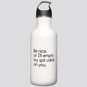 Spit Valve Stainless Water Bottle 1.0L