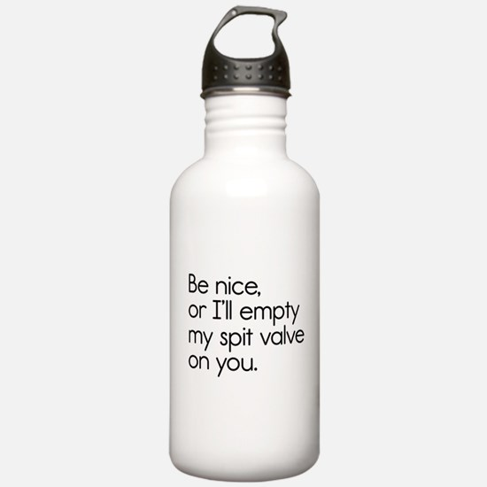 Spit Valve Water Bottle