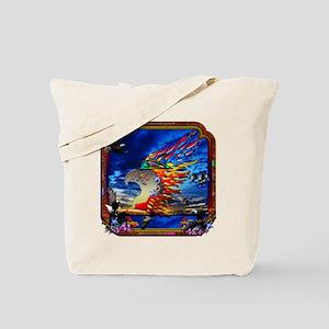 Good Hunting Eagle Sky Tote Bag