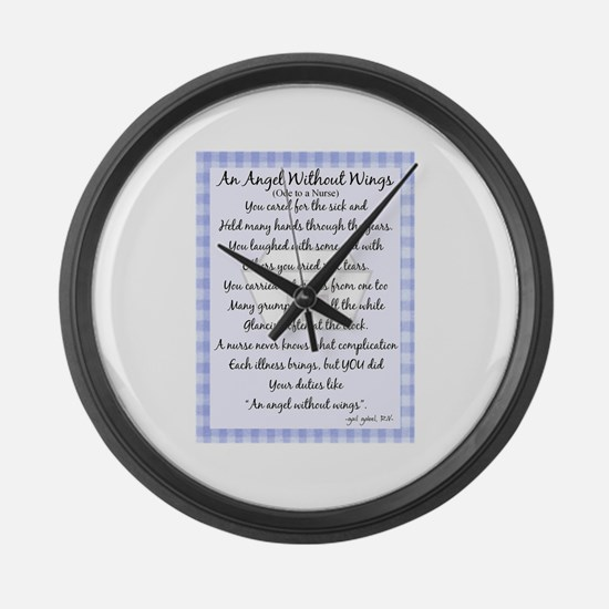 Nurse Gifts XX Large Wall Clock