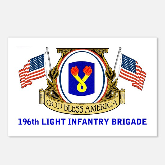 196th LIGHT INFANTRY Postcards (Package of 8)