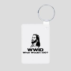 WWID Aluminum Photo Keychain