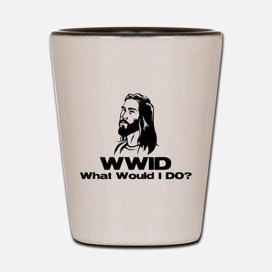 WWID Shot Glass
