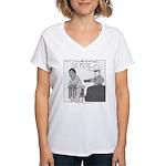 The Lone Arranger Women's V-Neck T-Shirt