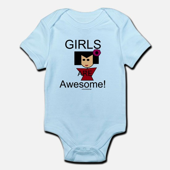 Girls Are Awesome Infant Bodysuit