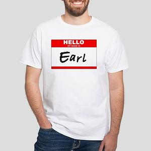 EARL!!! White T-Shirt