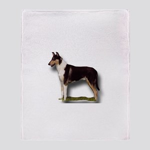 Collie_Place Throw Blanket