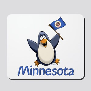 Minnesota Penguin Mousepad