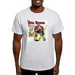 Wanna Piece Ash Grey T-Shirt