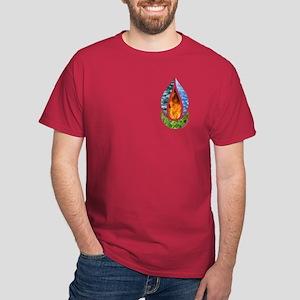 Earth Chalice Pocket Dark T-Shirt