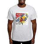 Size Matters Ash Grey T-Shirt