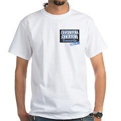 Nine Lives Back White T-Shirt