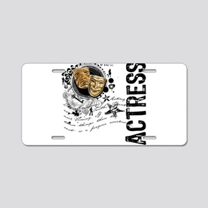 Actress Alchemy Collage Aluminum License Plate