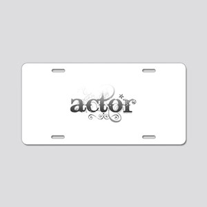 Urban Actor Aluminum License Plate