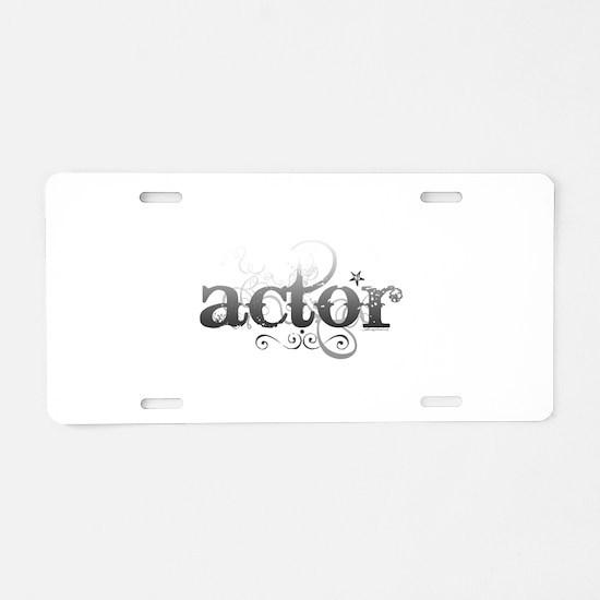 Urban Actor Aluminum License Plate