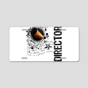 Director Alchemy Aluminum License Plate