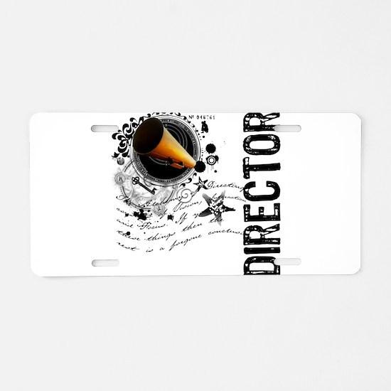 Director Alchemy Aluminum License Plate