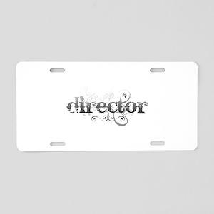 Urban Director Aluminum License Plate