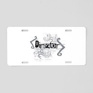 Grunge Director Aluminum License Plate