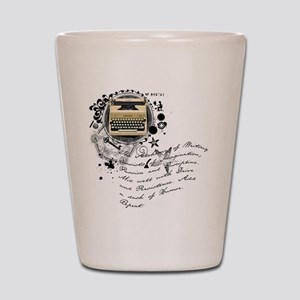 The Alchemy of Writing Shot Glass