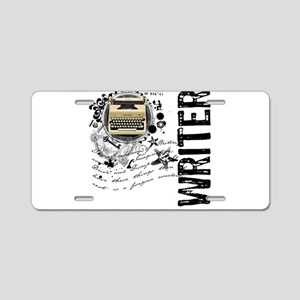 Writer Alchemy Aluminum License Plate