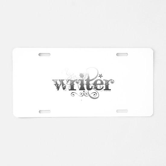 Urban Writer Aluminum License Plate