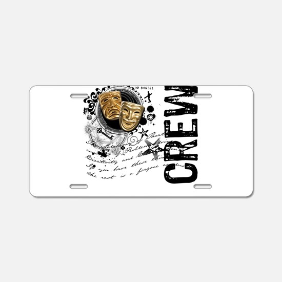 Stage Crew Alchemy Aluminum License Plate