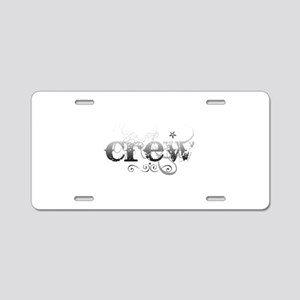 Urban Crew Aluminum License Plate