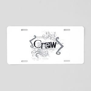 Grunge Crew Aluminum License Plate