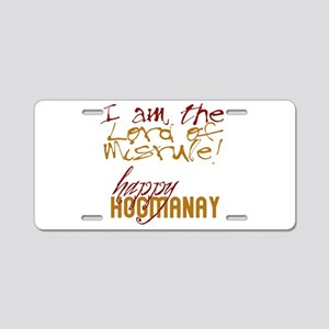 Lord of Misrule/Hogmanay Aluminum License Plate