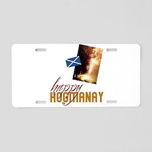 Hogmanay Aluminum License Plate