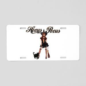 Hocus Pocus Aluminum License Plate