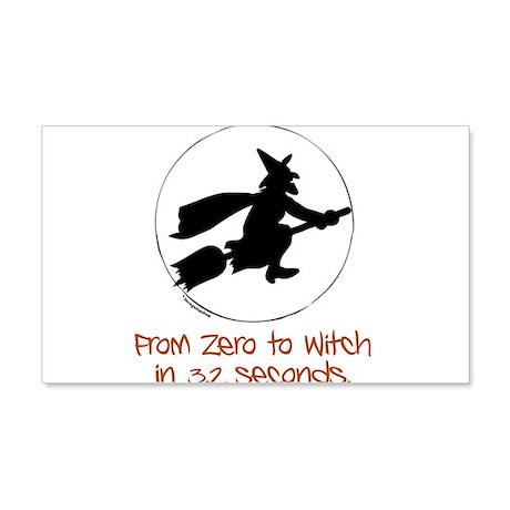 Zero to Witch 22x14 Wall Peel