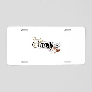 Chookas Aluminum License Plate