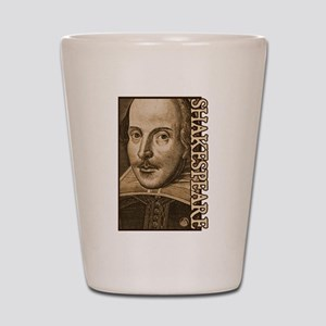 Droeshout's Shakespeare Shot Glass