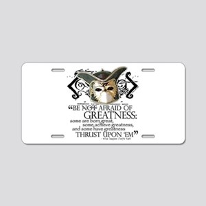 Twelfth Night 2 Aluminum License Plate