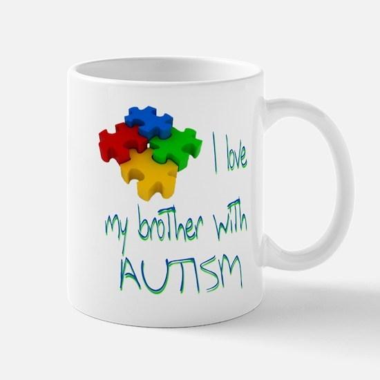 I love my brother with autism Mug