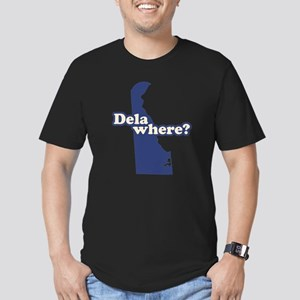 """Delaware"" Men's Fitted T-Shirt (dark)"