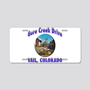Gore Creek Drive Aluminum License Plate