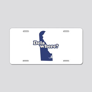 """Delaware"" Aluminum License Plate"