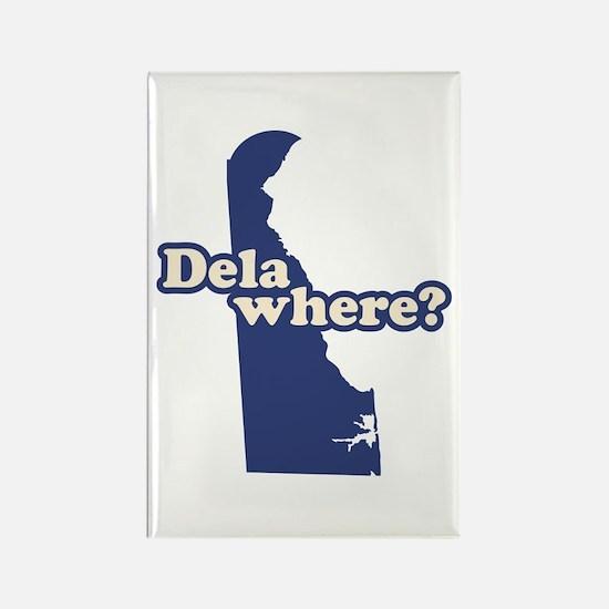 """Delaware"" Rectangle Magnet"