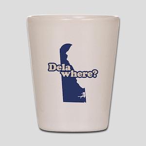 """""""Delaware"""" Shot Glass"""