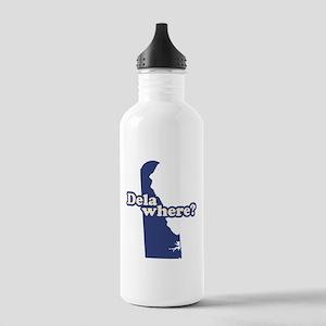 """Delaware"" Stainless Water Bottle 1.0L"