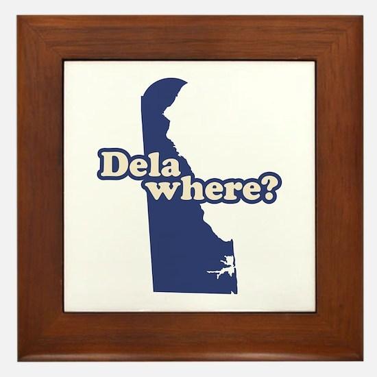 """""""Delaware"""" Framed Tile"""