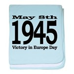 1945 - Victory Europe Day baby blanket