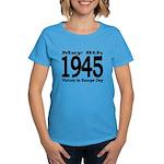 1945 - Victory Europe Day Women's Dark T-Shirt